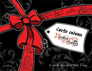 Carte cadeau Monstres et Merveilles