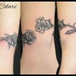 Bracelet de roses