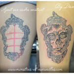 Tatouage crâne féminin