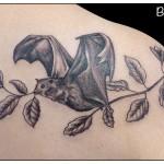 Tatouage de chauve souris