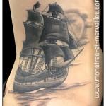Tatouage de bateau
