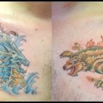 Tatouage Leviathan et Fenrir