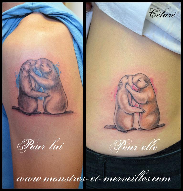 tatouage marmottes tatouage de lezard tatouage de corbeau tatouage de