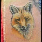 Tatouage de renard