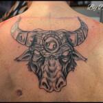 Tatouage taureau