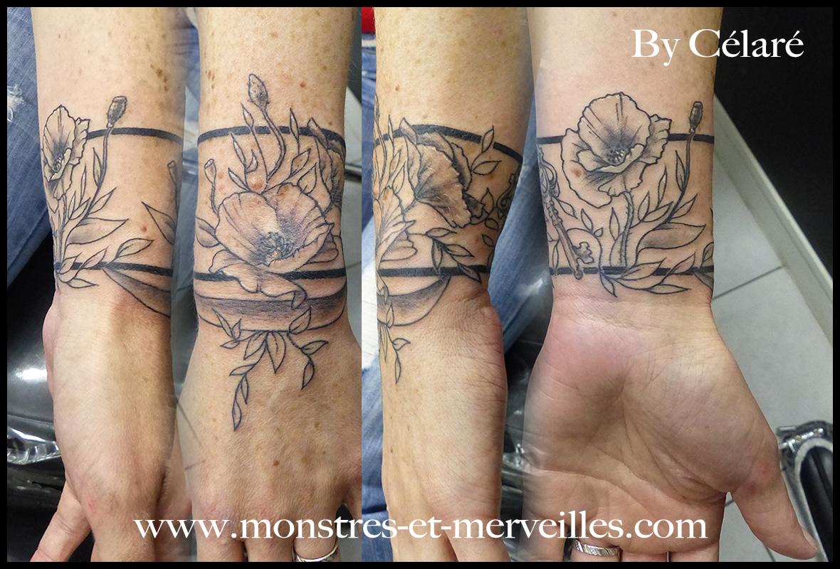 Tatouage Coquelicot Monstres Et Merveilles