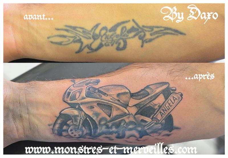 Tatouages De Recouvrement Monstres Et Merveilles