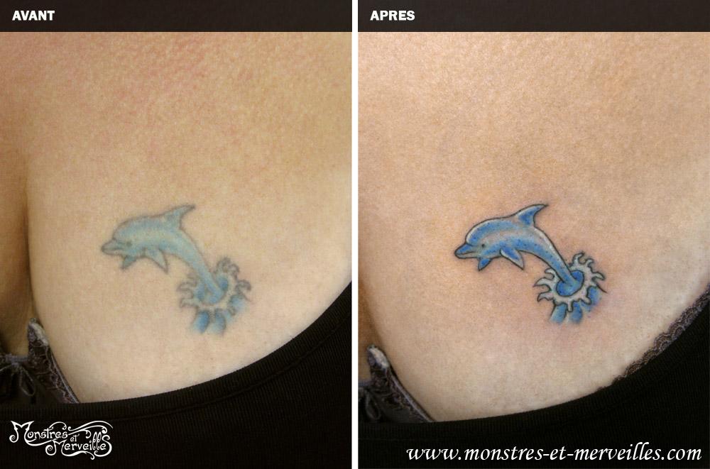 tatouages de recouvrement | monstres et merveilles