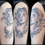 Tatouage Medusa