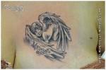 Tatouage d'angelot