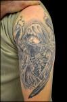 Tatouage ange de la mort