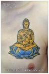 Tatouage de bouddha