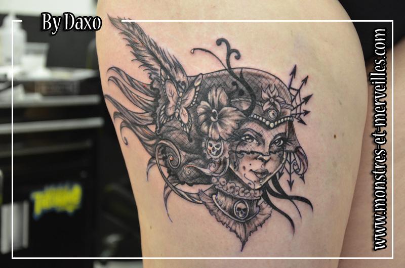Tatouages De Personnages Monstres Et Merveilles