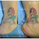 Rafraîchissement de tatouage