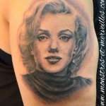Tatouage Marilyn Monroe