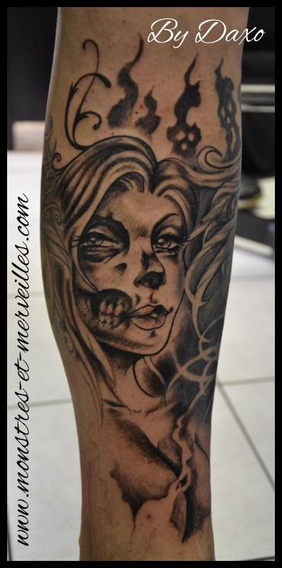 Femme crâne